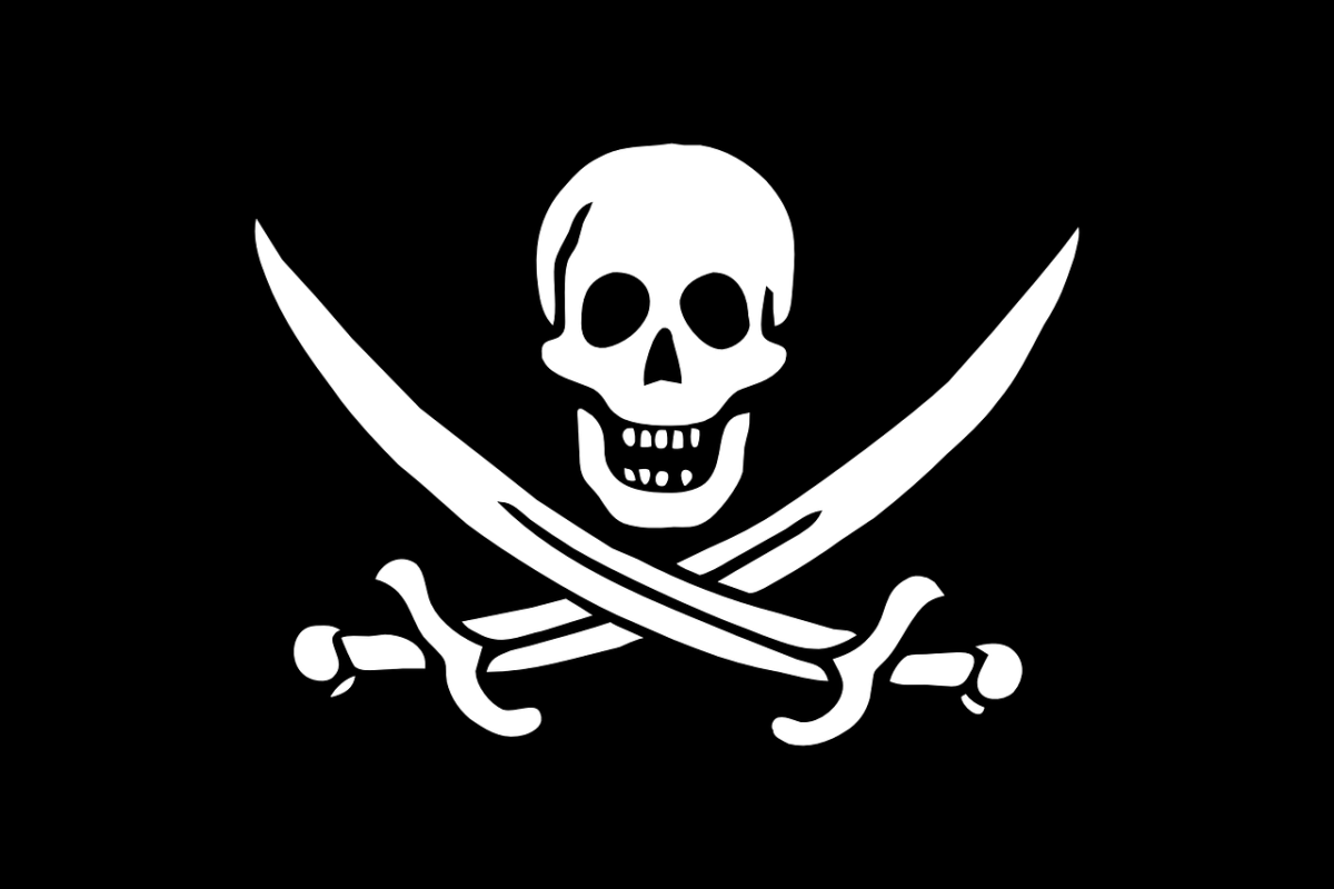 Jolly Roger Flagge