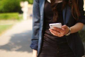 Ablenkung durch Smartphones