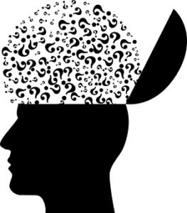 Kopf und Fragen