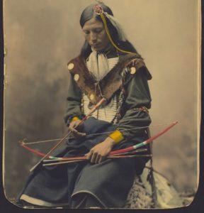 Indianer mit Bogen