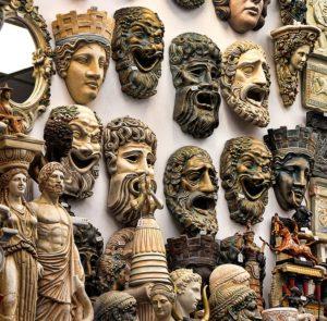 Griechische Masken