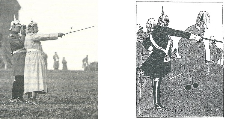 Kaiser Wilhelm II. Kaisermanoever