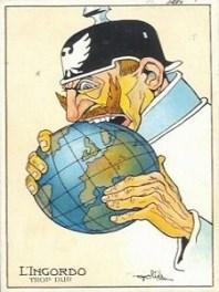 Karikatur Kaiser Wilhelm II.