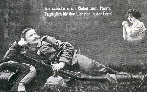 Deutsche Postkarte