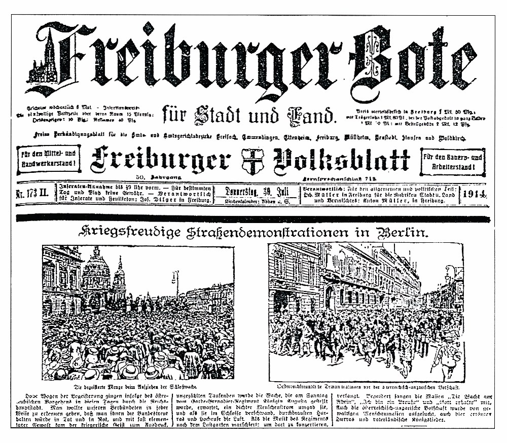 Zeitung Freiburger Bote