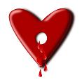 Durchbohrtes Herz