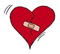 Verletztes Herz
