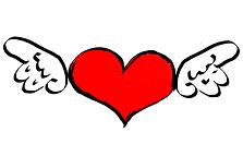 Herz mit Fluegeln