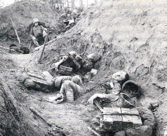 Gefallene Soldaten