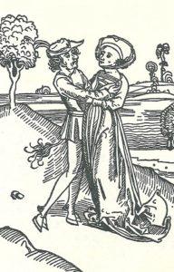 Teufel und Frau