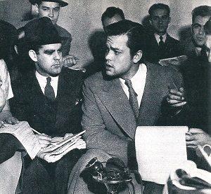 Orson Welles Pressekonferenz