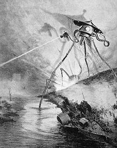 Krieg der Welten Illustration