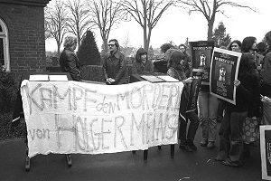Demo wegen Haftbedingung