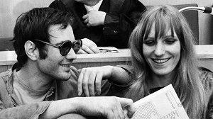 Baader und Ensslin 1968