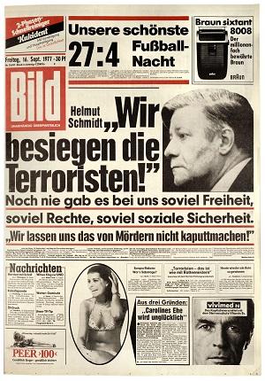 Bild-Titelblatt 1977