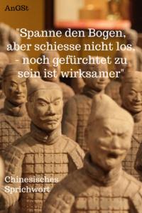 Chinesisches Sprichwort