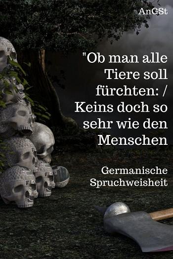 Germanisches Sprichwort