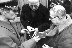 Sartre-Besuch Baader 1974