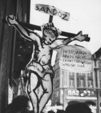 Protest Sandoz Schweizerhalle