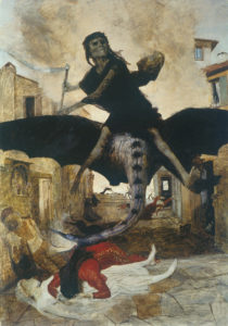 Pest - Arnold Boecklin (1898)