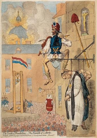 James Gillray (1793) - Franzoesische Revolution