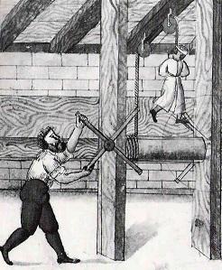 Hinrichtung eines Knaben