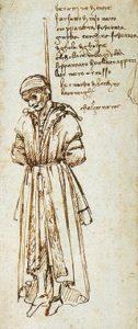 Verschwoerung Pazzi. Bild Leonardo da Vinci.