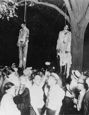 Lynchjustiz und Rassenhass USA