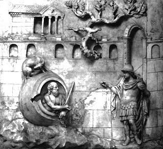 Diogenes und Alexander