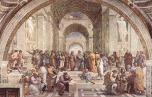 Raffael - Schule von Athen