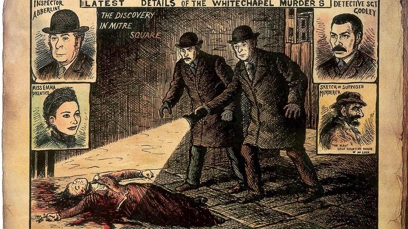Jack the Ripper - Zeitung