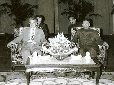 Ceausescu und Pol Pot (1978)