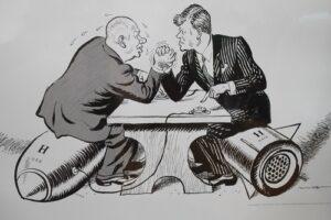 Kalter Krieg - Kennedy u. Chruschtschow