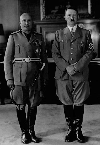 Mussolini und Hitler (1940)